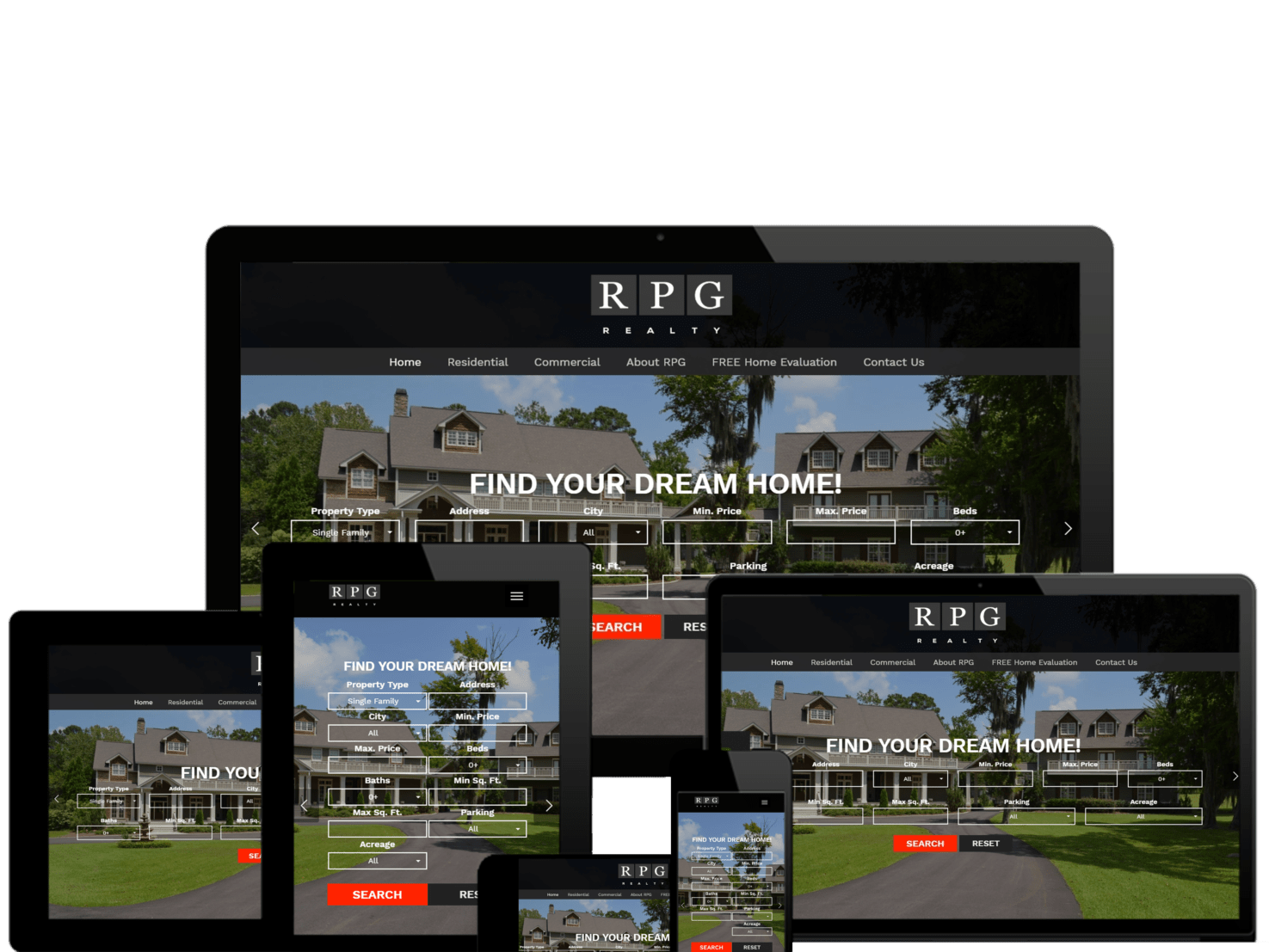 Real Estate Web Design Montgomery AL